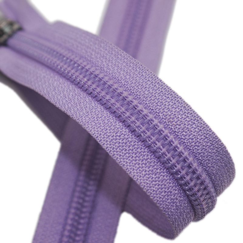Custom Zipper Roll Manufacturer 5 Color Nylon Zippers